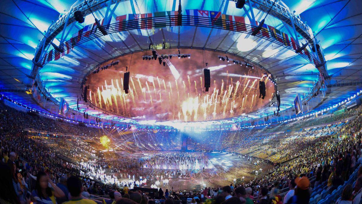 Farbenfrohe Eröffnungsfeier der Paralmypics