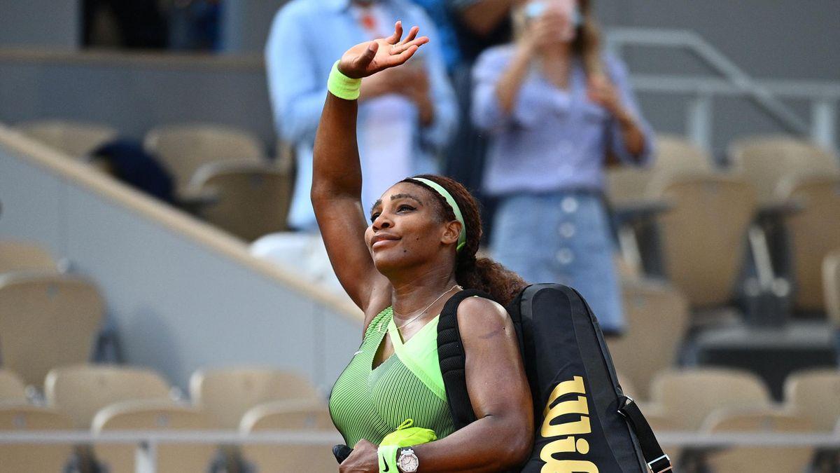 Serena Williams à Roland-Garros, 2021