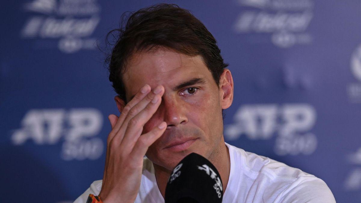 Rafael Nadal à Acapulco en 2020