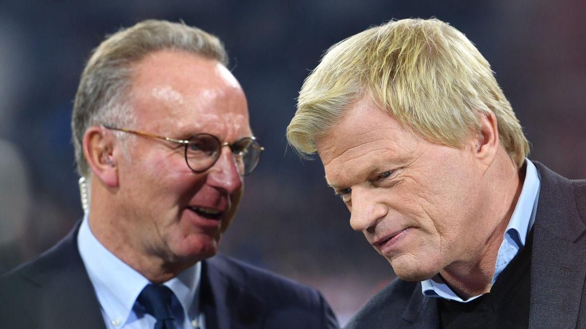 Karl-Heinz Rummenigge, Oliver Kahn - FC Bayern München