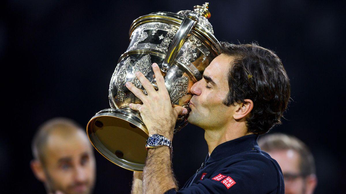Roger Federer gewinnt Heimturnier in Basel