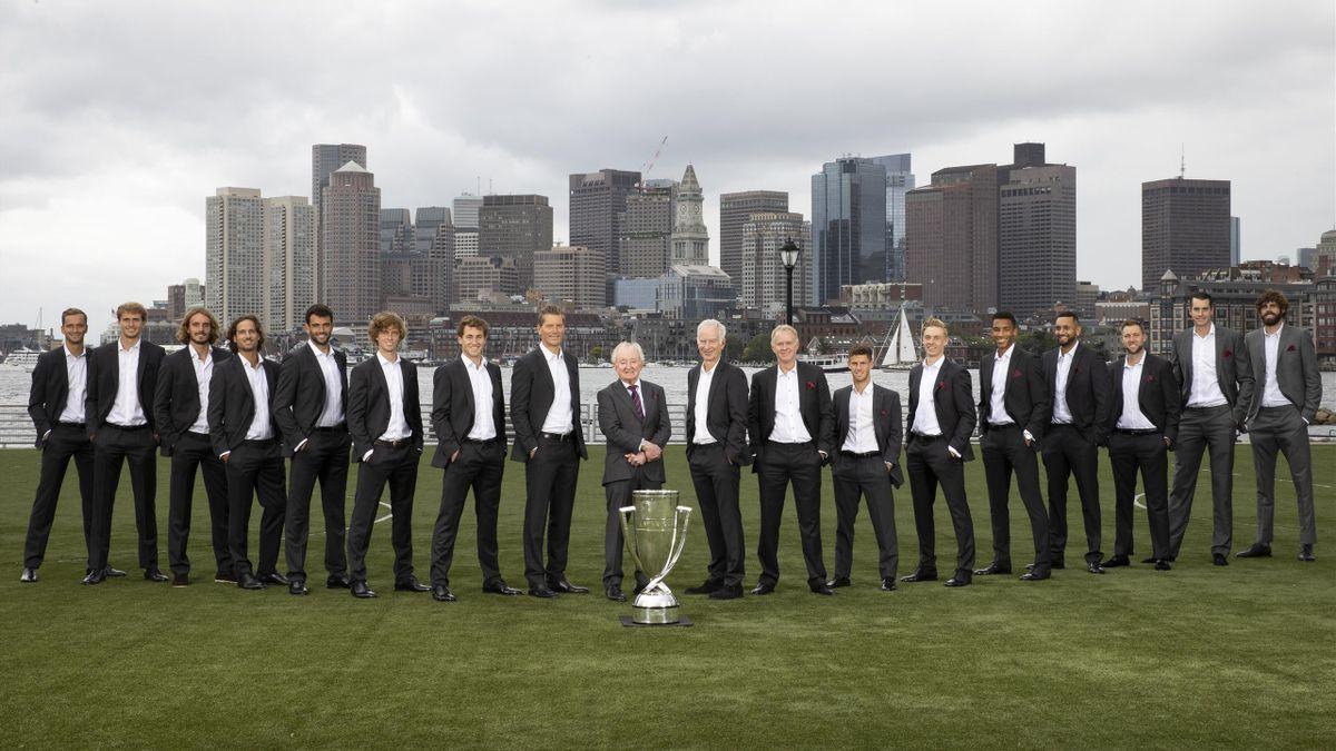 A Laver Kupa 2021-es résztvevői