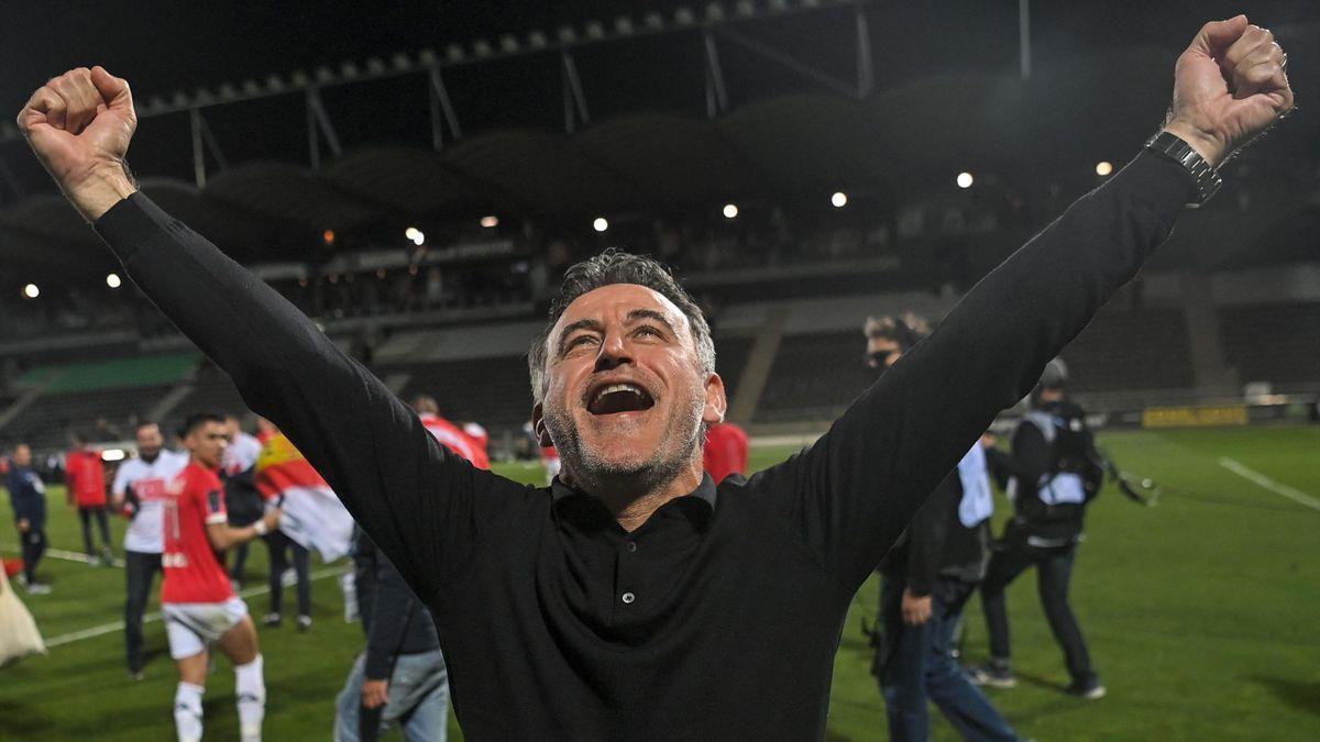 Christophe Galtier, coach de Lille et champion de France