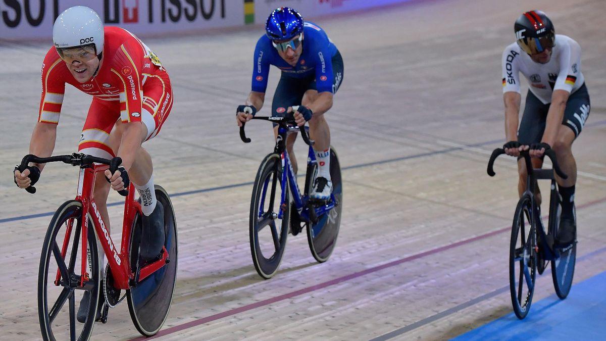 Elia Viviani - 2020 world championship Berlin - Madison - Getty Images