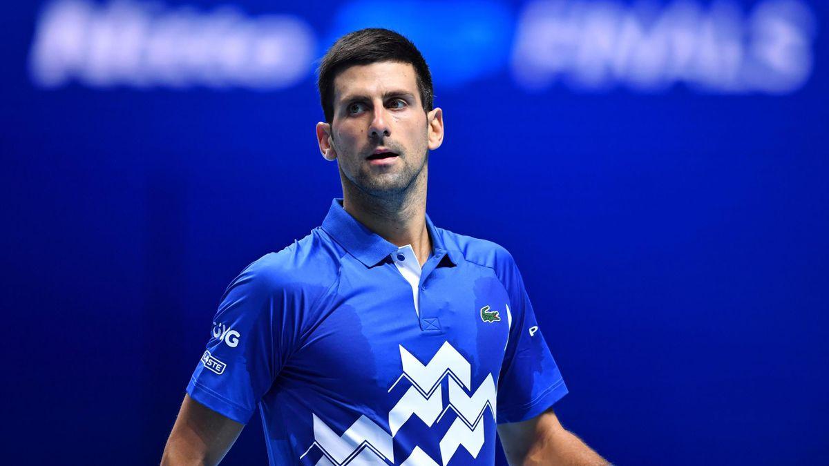Novak Djokovic à l'ATP World Tour Finals