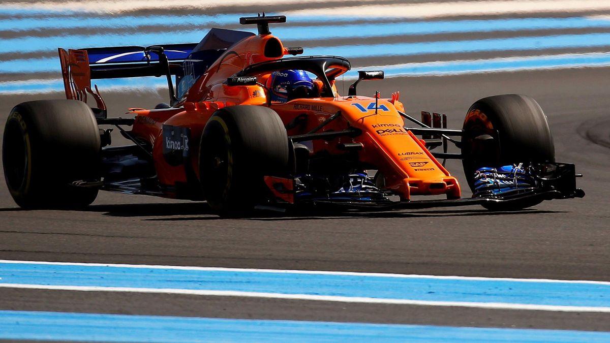 Fernando Alonso (McLaren-Renault) - Gran Premio de Francia 2018