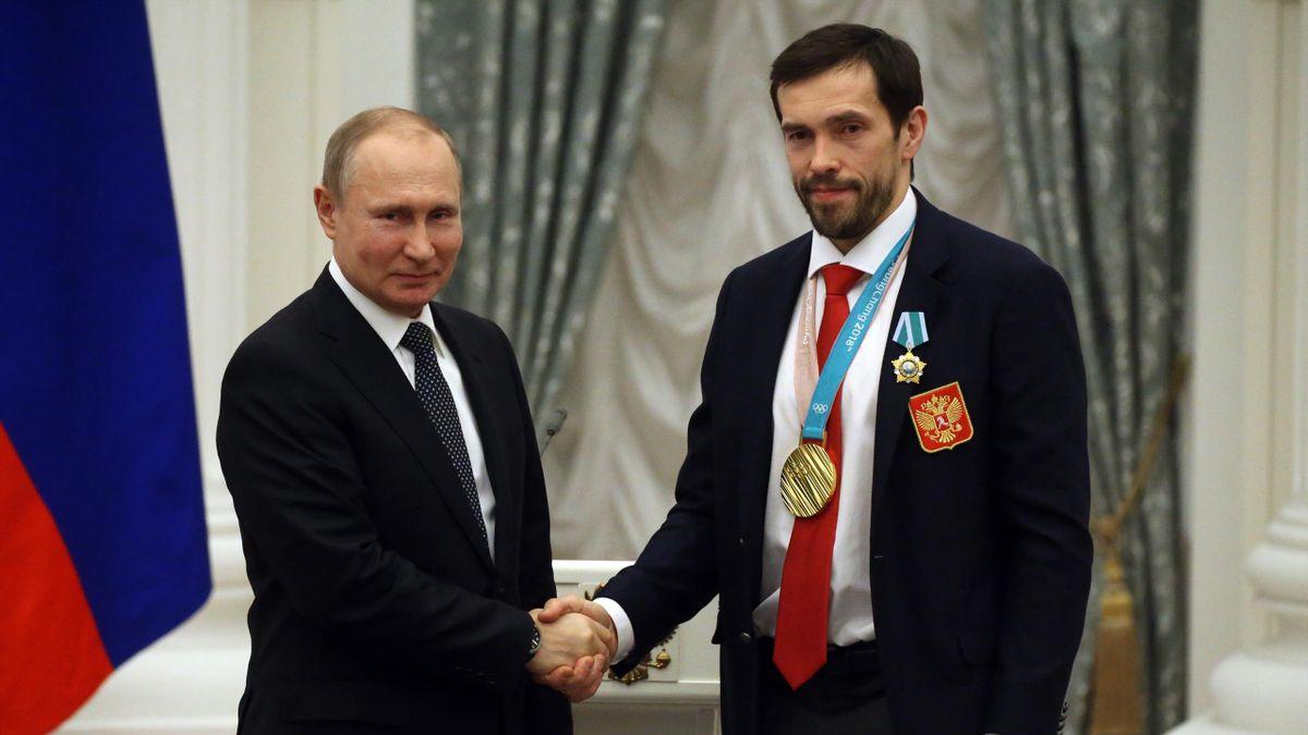 Владимир Путин и Павел Дацюк