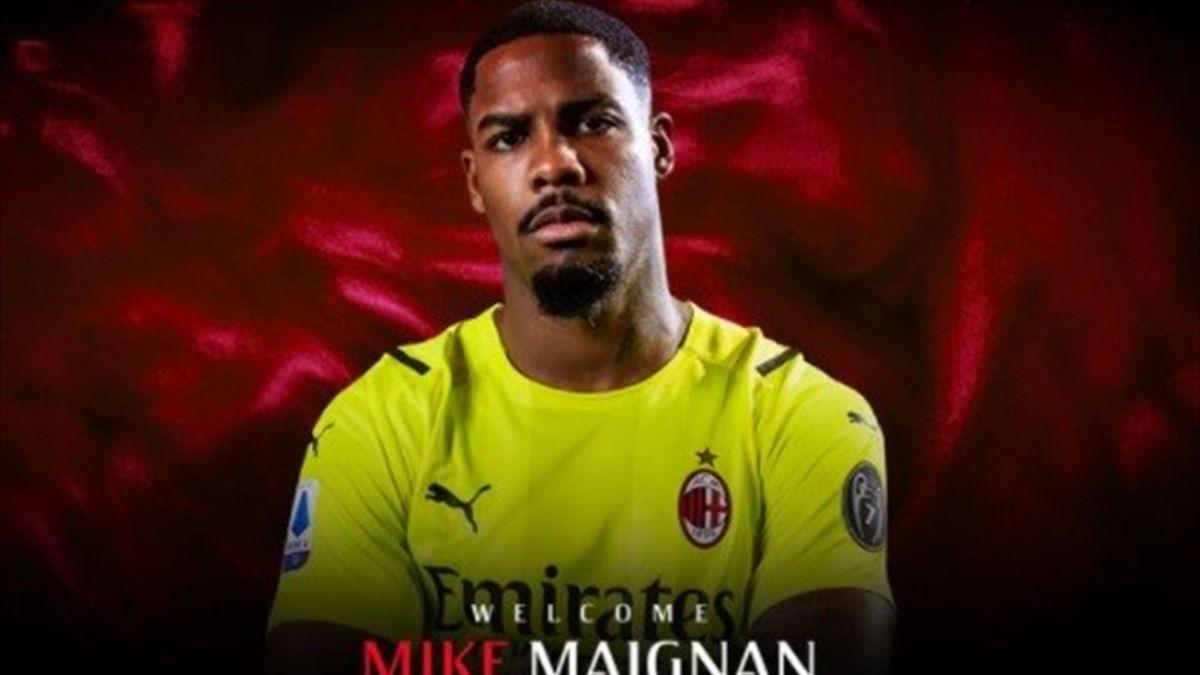 Mike Maignan ufficiale al Milan - Foto Twitter AC Milan