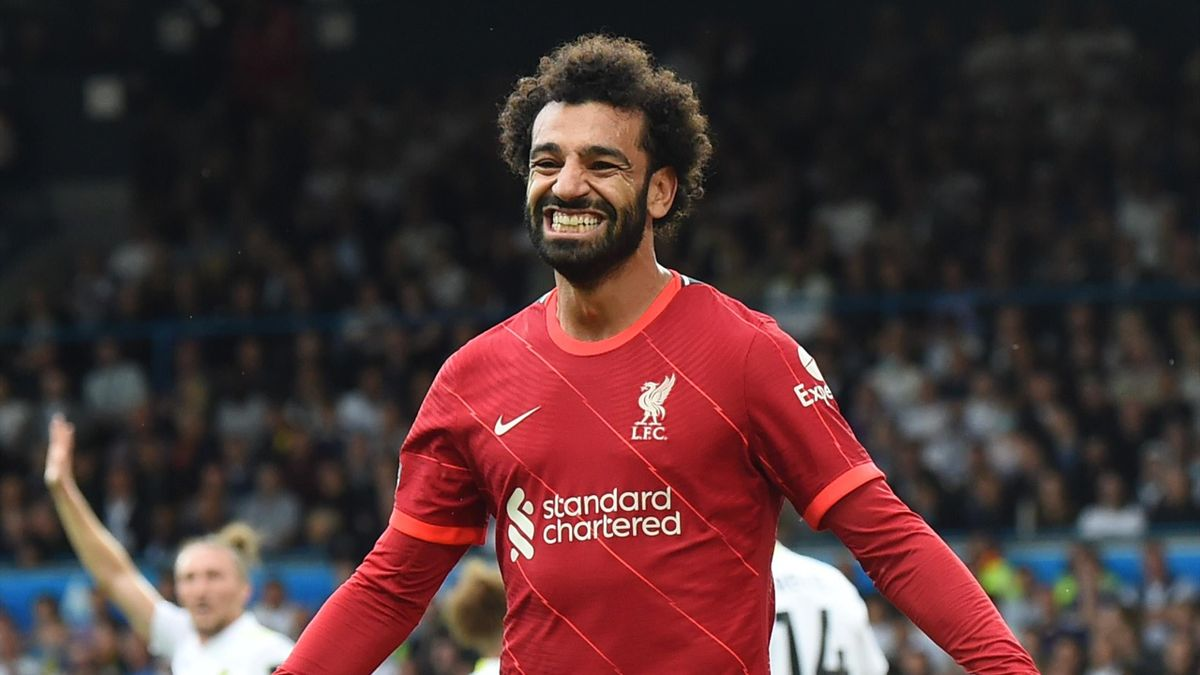 Mo Salah has joined the Premier League's 100 club