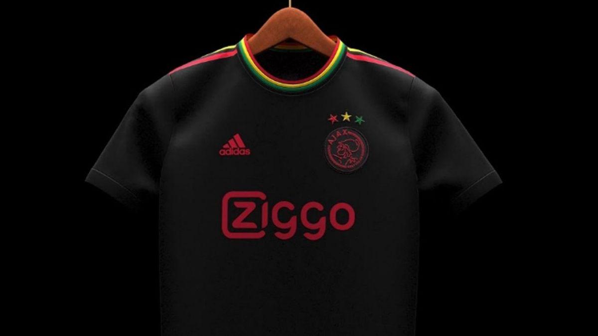 La terza maglia dell'Ajax (Credit Photo: Footy Headlines)
