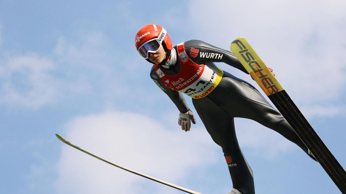 Skispringen: Katharina Althaus