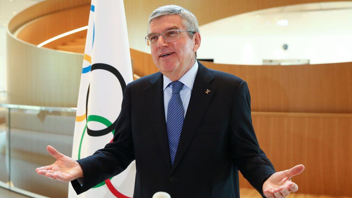 IOC-Präsident Thomas Bach bekennt sich zu Olympia 2021 in Tokio