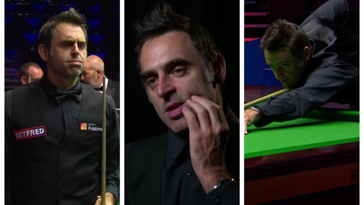 Ronnie O'Sullivan is through to his seventh World Championship final.