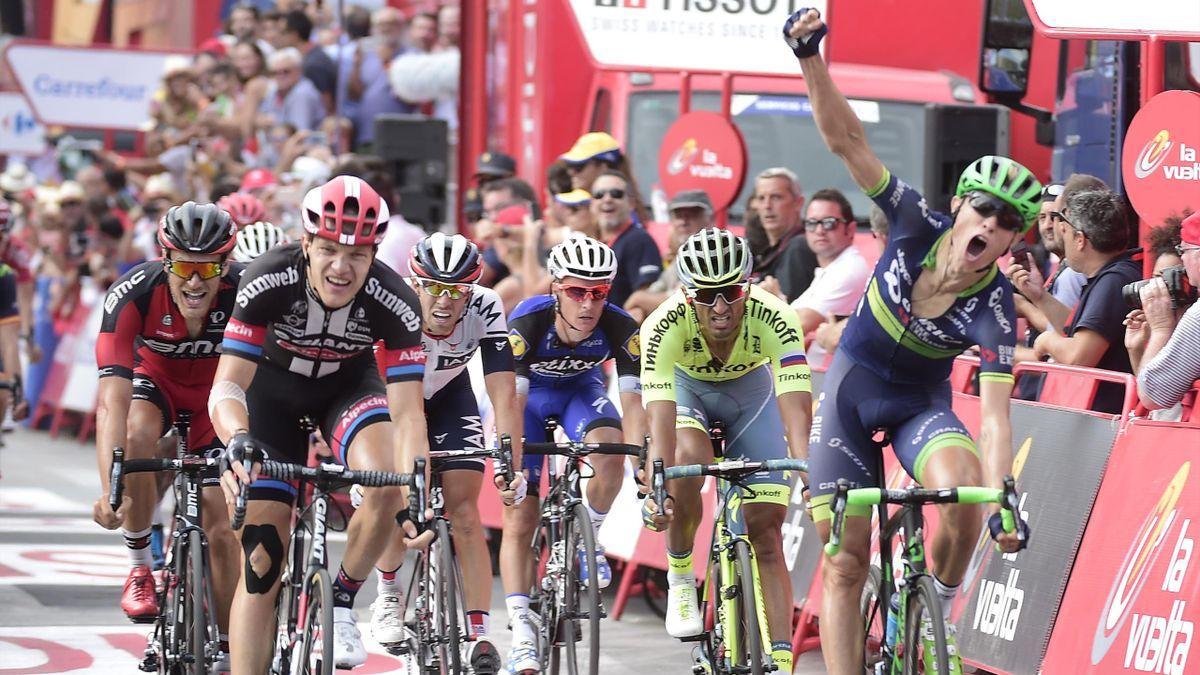 Magnus Cort Nielsen (Orica) sur le Tour d'Espagne