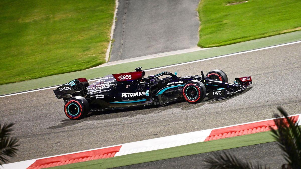 Lewis Hamilton beim Qualifying in Bahrain