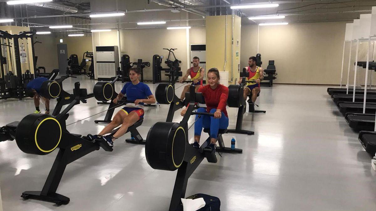 Sportivii români au început antrenamentele / Sursă foto: Facebook