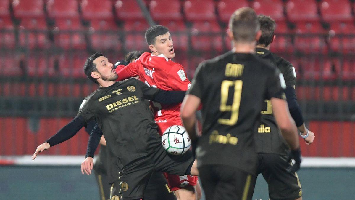 Monza-Vicenza, Serie B 2020-2021: Mirko Maric (Monza, maglia rossa) (Getty Images)