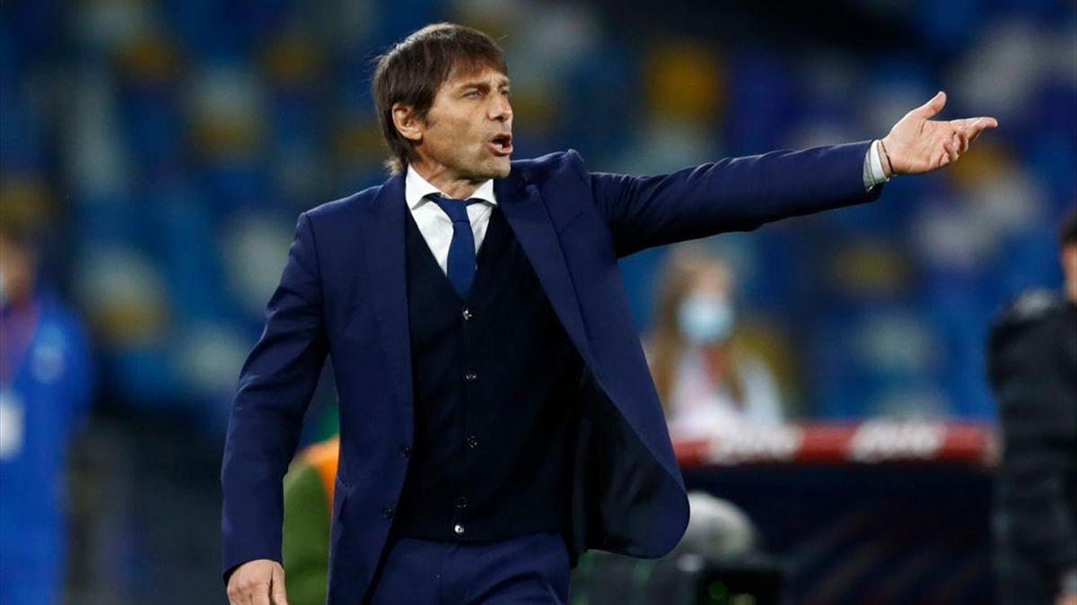 Antonio Conte - Napoli-Inter Serie A 2020-21