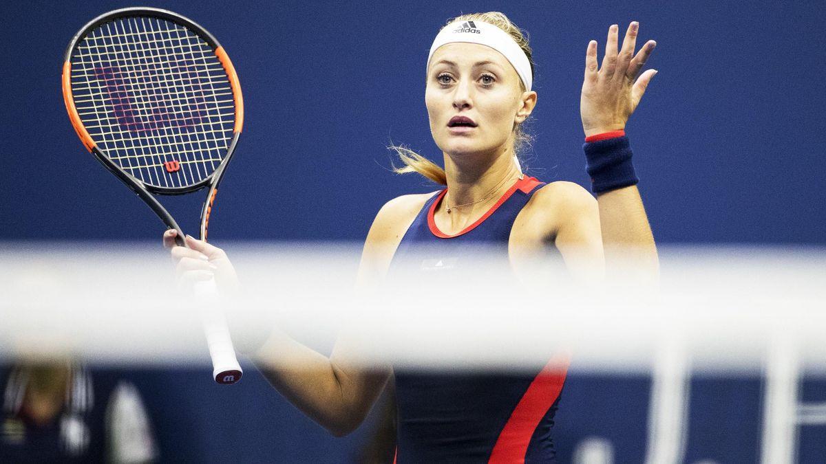 Kristina Mladenovic, extrem de supărată pe oficialii de la US Open