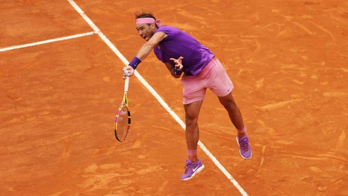 Rafael Nadal beim ATP Masters in Rom