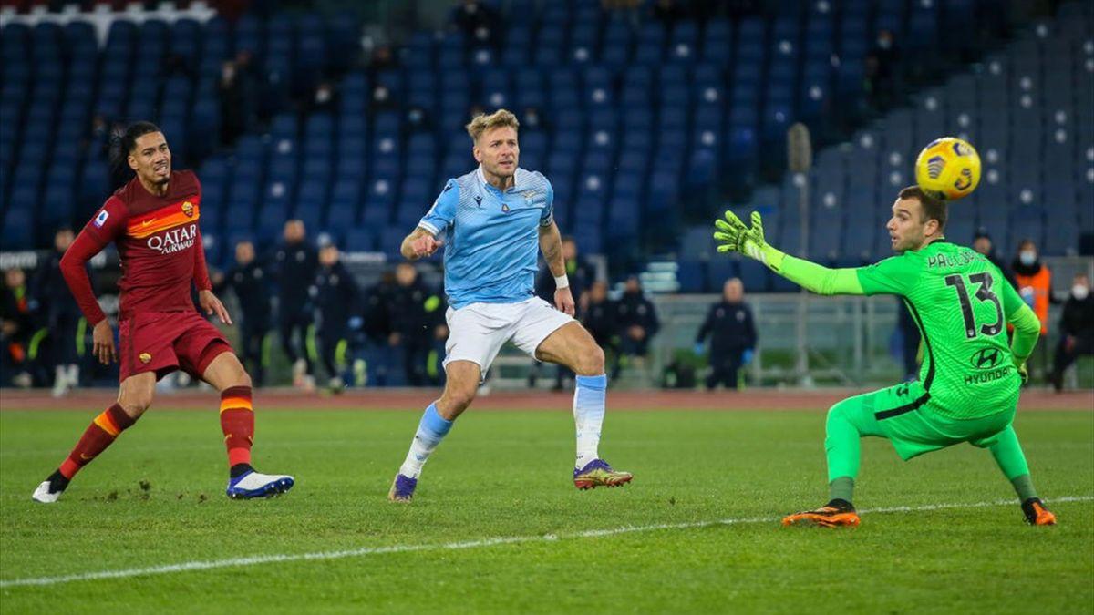 Il gol di Ciro Immobile - Lazio-Roma Serie A 2020-21