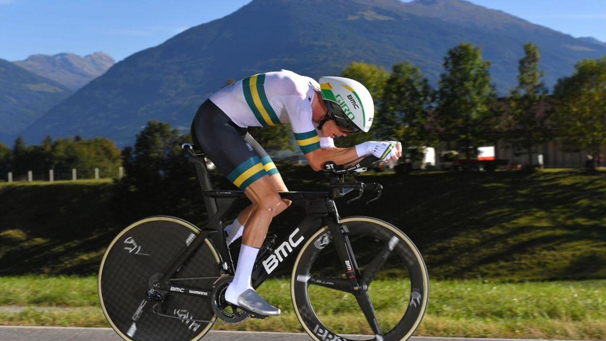Rohan Dennis wereldkampioen innsbruck