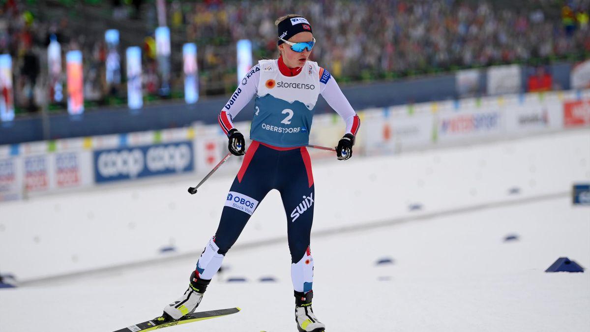 Gyda Westvold Hansen ist die erste Weltmeisterin in der Nordischen Kombination der Frauen