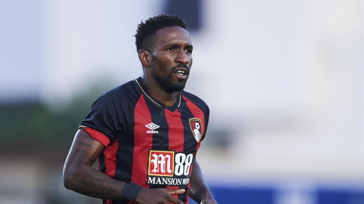 Jermain Defoe of AFC Bournemouth reacts during Pre- Season friendly Match between Sevilla FC and AFC Bournemouth at La Manga Club on July 14, 2018 in Murcia, Spain.