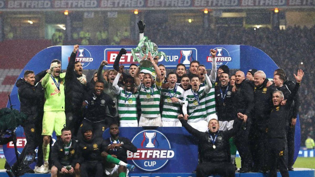 Celtic Glasgow gewinnt den schottischen League Cup