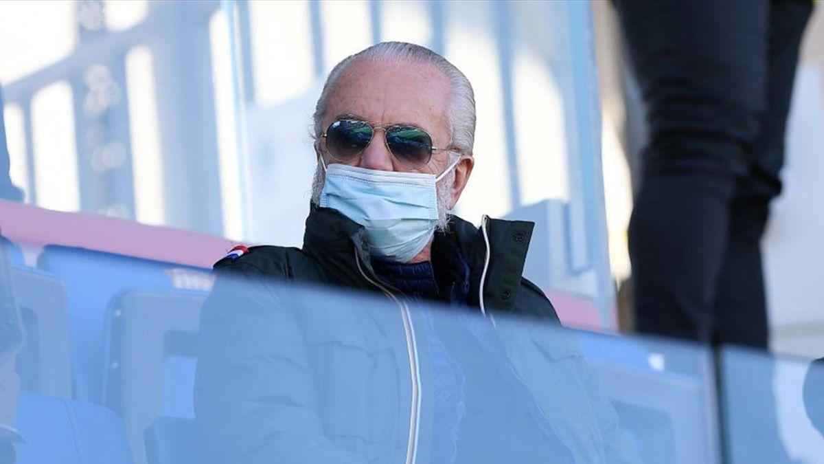Aurelio De Laurentiis - Benevento-Napoli - Serie A 2020/2021 - Getty Images
