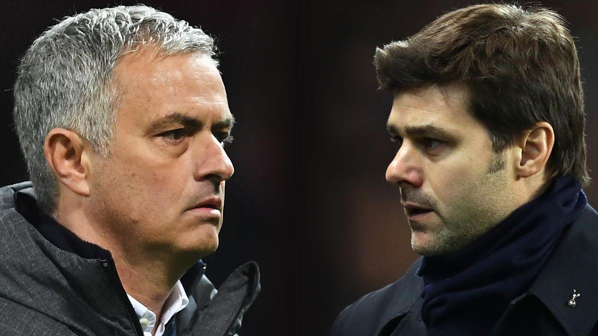 Jose Mourinho faces Mauricio Pochettino