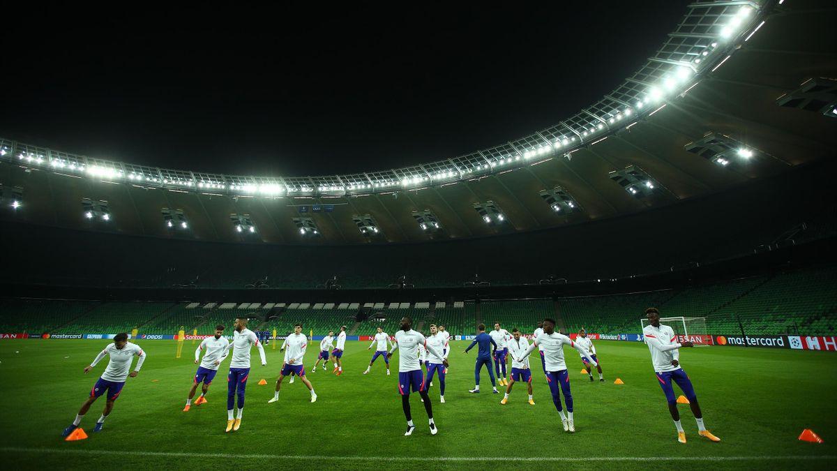 Liga Chempionov Krasnodar Chelsi Sostavy I Lajv Eurosport