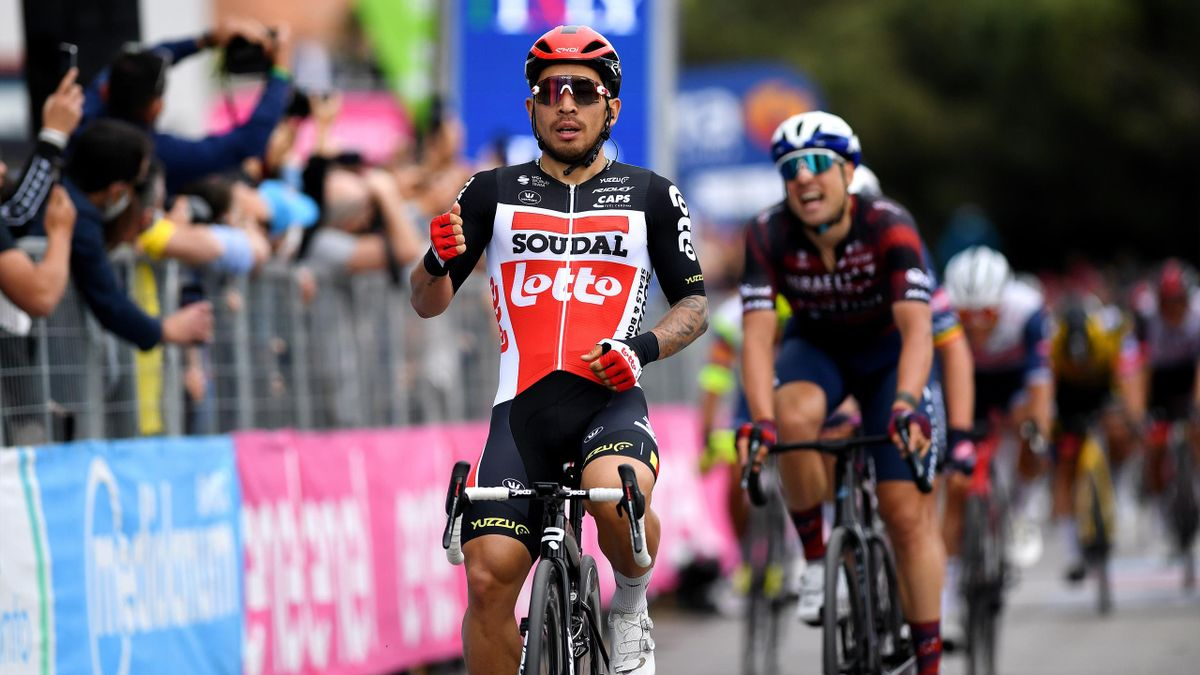 Калеб Юэн (Lotto Soudal), седьмой этап «Джиро д'Италия»