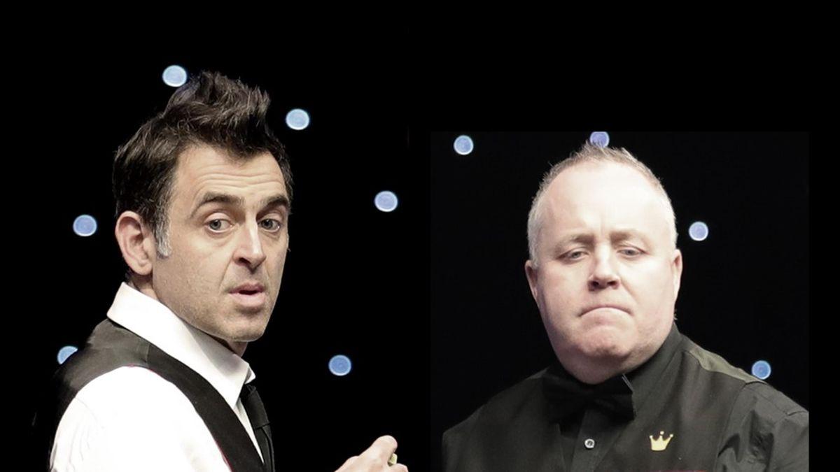 Ronnie O'Sullivan against John Higgins