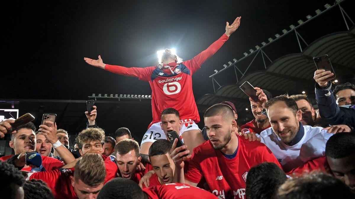«Лилль» после победы в чемпионате Франции