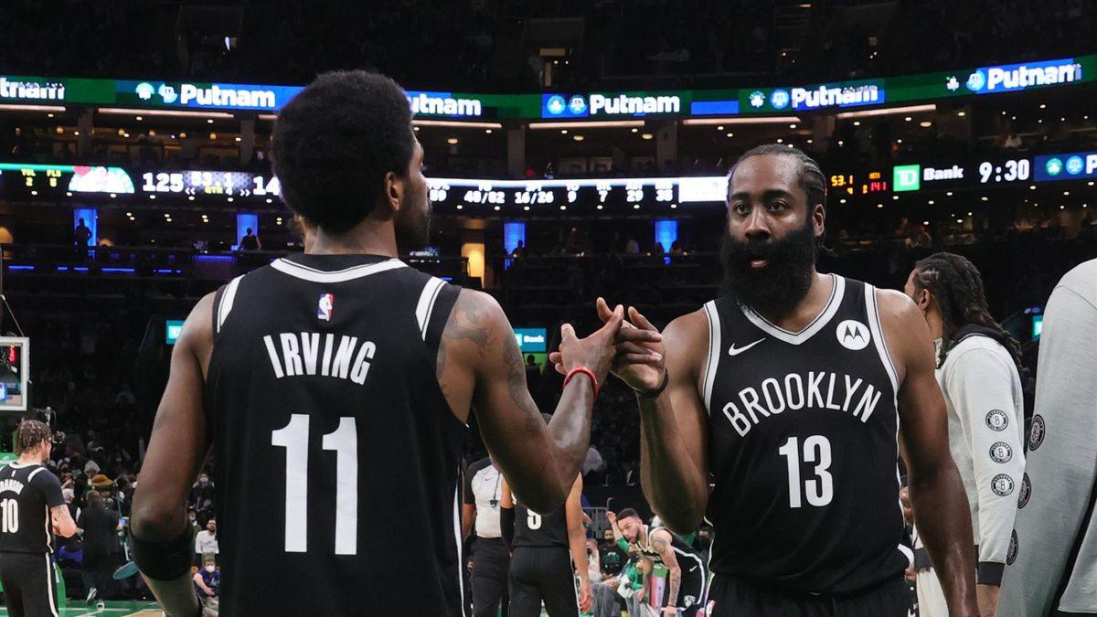 Kyrie Irving et James Harden (Brooklyn Nets)