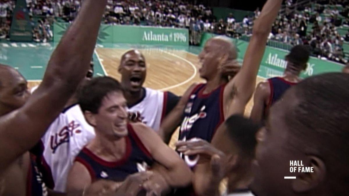Hall of Fame: Atlanta - basketball men's final USA - Yougoslavia