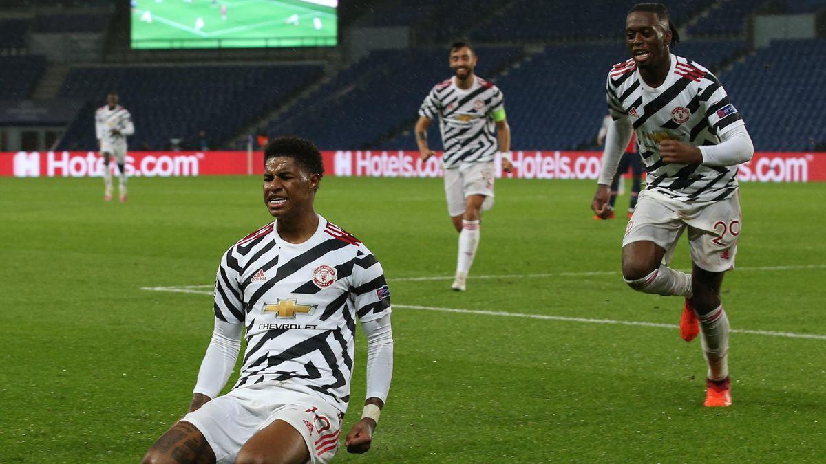 Match Winner Marcus Rashford Hails Man Utd S Unbelievable Defence In Win At Psg Eurosport