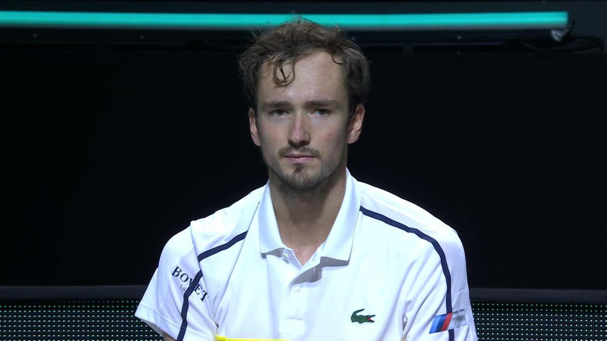 ATP Rotterdam - Medvedev pissed off against Lajovic