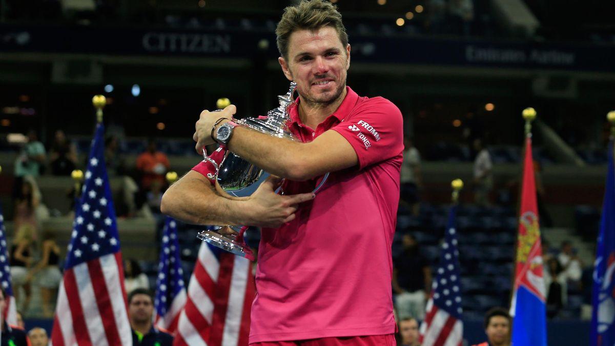US Open winnaar Stan Wawrinka