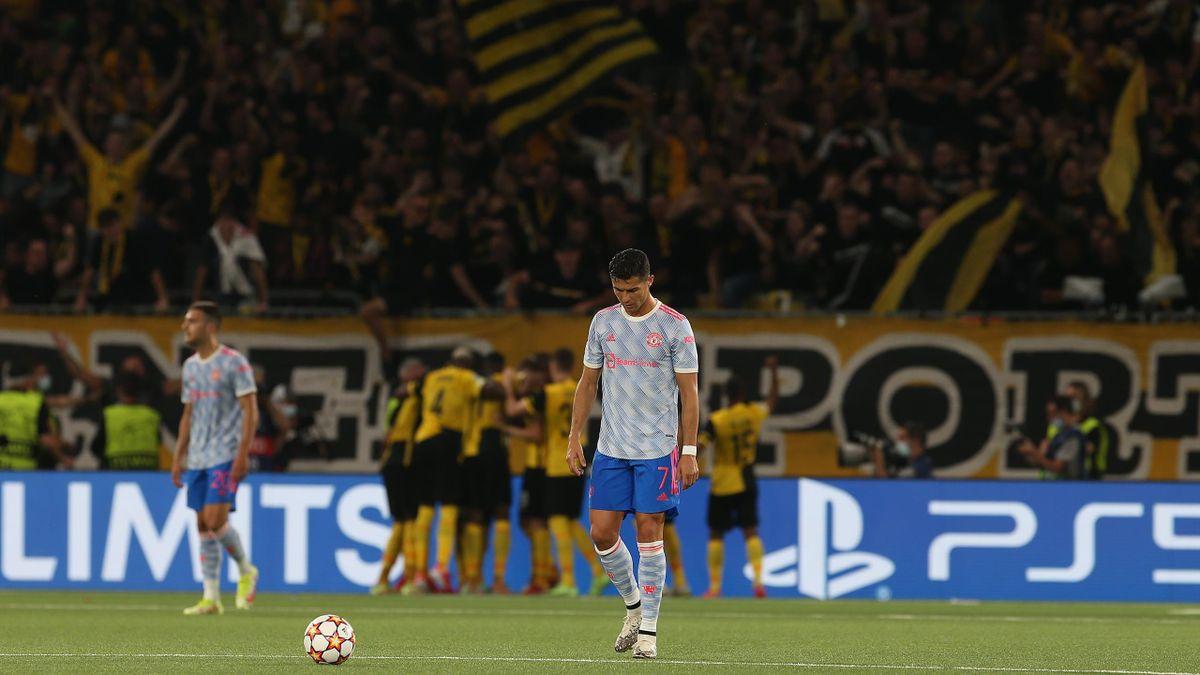 Cristiano Ronaldo und Manchester United verloren bei den Young Boys Bern