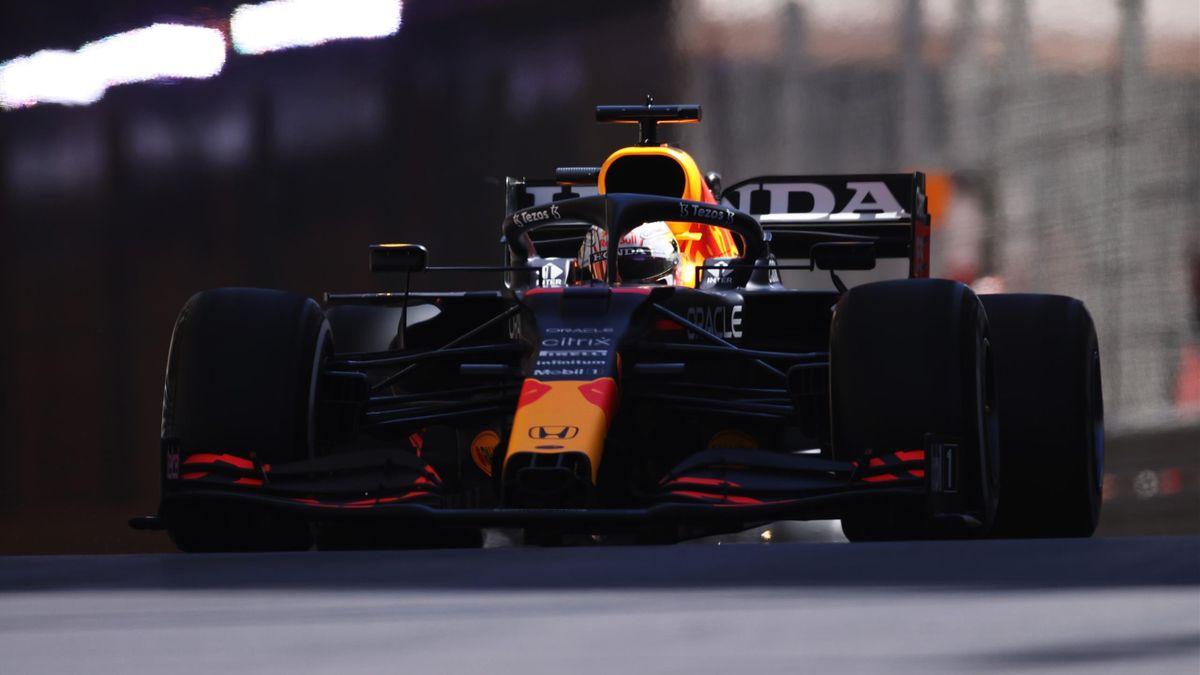 Max Verstappen (Red Bull) in Monte Carlo