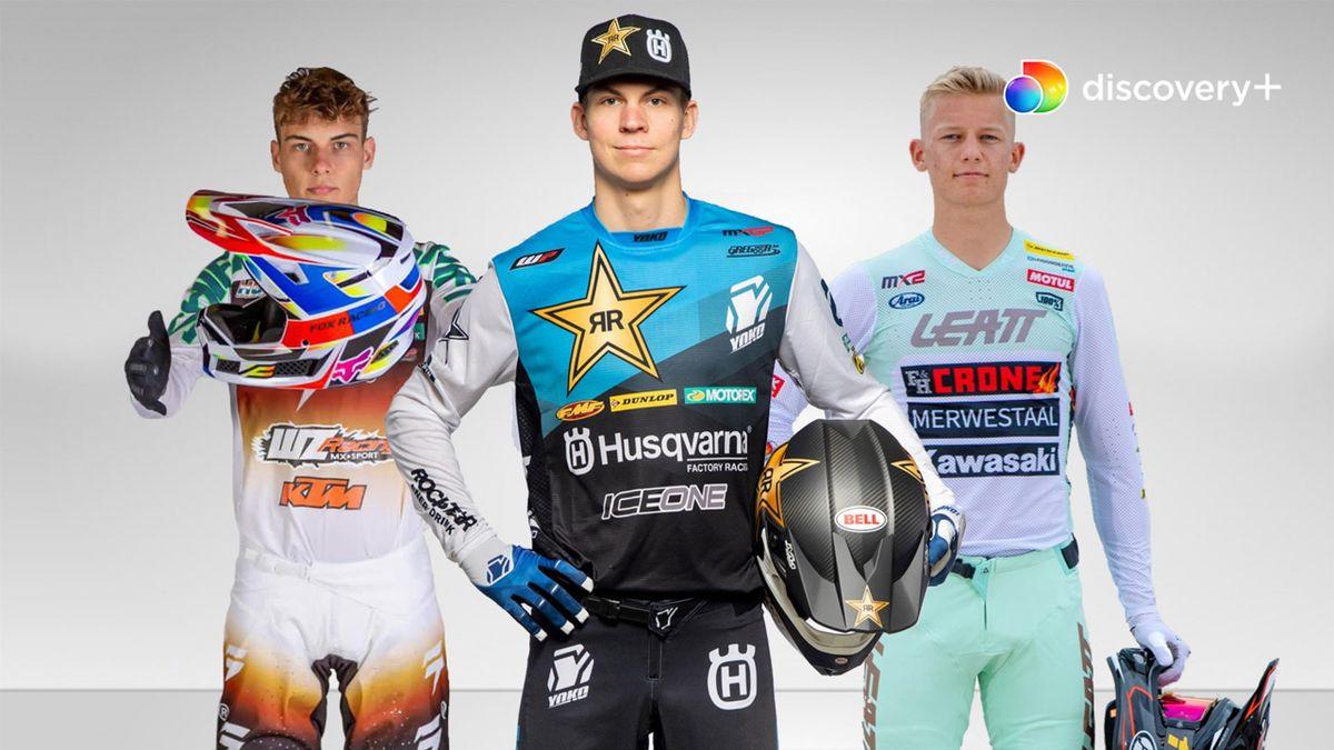Fra d. 23. maj kan du se en bred skare af danskere i aktion til VM i Motocross på discovery+.