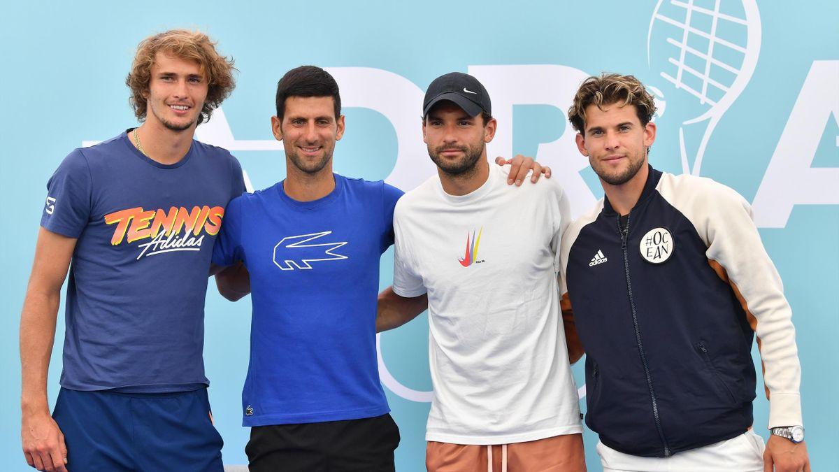 Azi începe Adria Tour, turneul organizat de Novak Djokovic, în direct pe Eurosport