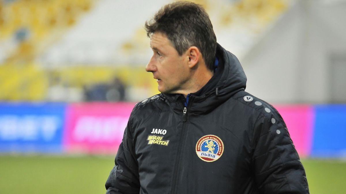 Виталий Шумский, главный тренер ФК «Львов» (фото: официальный сайт ФК «Львов»)
