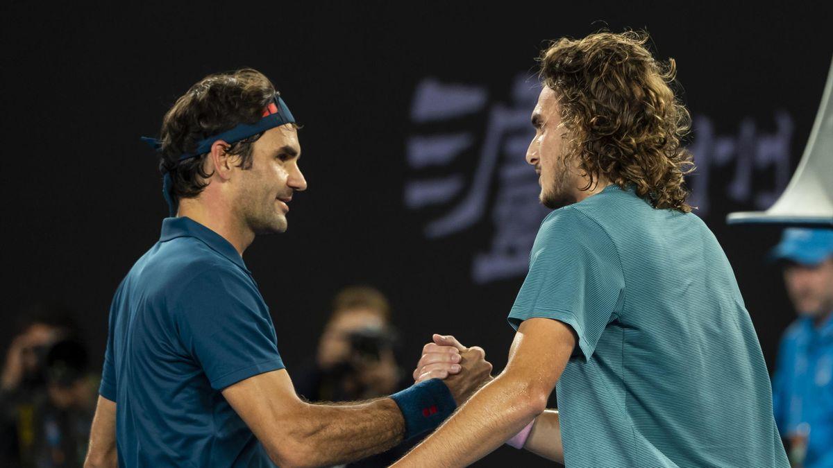 Roger Federer Stefanos Tsitsipas   Tennis Australian Open 2019   ESP Player Feature