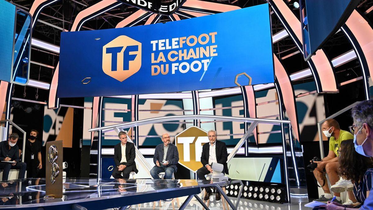 La Chaîne Téléfoot à son lancement, le 18 août 2020