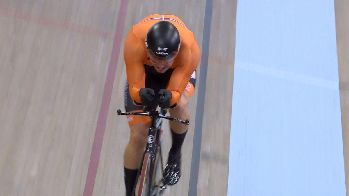 European Championship - 1000 m Time Trial Men - BÜCHLI Matthijs win