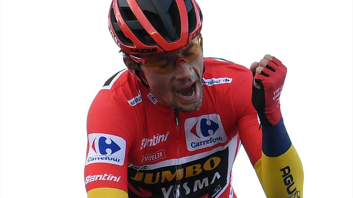 Primoz Roglic of Slovenia and Team Jumbo