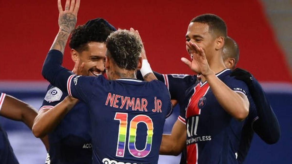 PSG - Reims 4-0